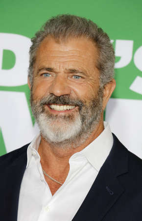 Mel Gibson at the Los Angeles premiere of 'Daddy's Home 2' held at the Regency Village Theatre in Westwood, USA on November 5, 2017. Editorial