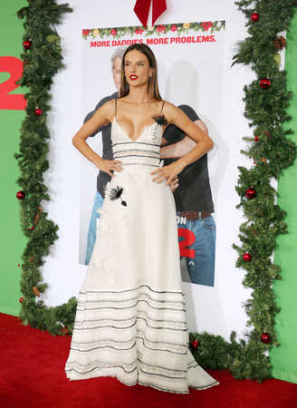 Alessandra Ambrosio at the Los Angeles premiere of Daddys Home 2 held at the Regency Village Theatre in Westwood, USA on November 5, 2017.