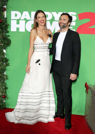 Jamie Mazur and Alessandra Ambrosio at the Los Angeles premiere of Daddys Home 2 held at the Regency Village Theatre in Westwood, USA on November 5, 2017.