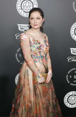 Emma Kenney at the Art Of Elysiums 11th Annual Heaven Celebration held at the Barker Hangar in Santa Monica, USA on January 6, 2018. Editorial