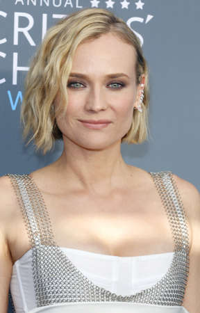 Diane Kruger at the 23rd Annual Critics Choice Awards held at the Barker Hangar in Santa Monica, USA on January 11, 2018. Editorial