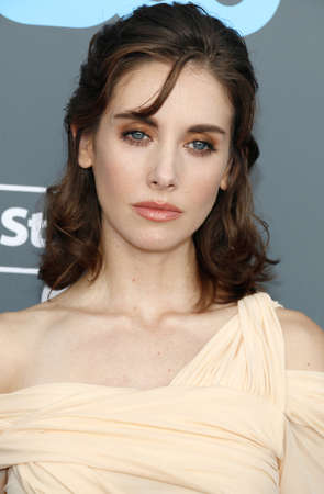 Alison Brie at the 23rd Annual Critics Choice Awards held at the Barker Hangar in Santa Monica, USA on January 11, 2018. Editorial