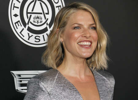 Ali Larter at the Art Of Elysiums 11th Annual Heaven Celebration held at the Barker Hangar in Santa Monica, USA on January 6, 2018.