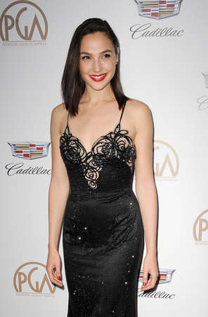 Gal Gadot at the 29th Annual Producers Guild Awards held at the Beverly Hilton Hotel in Beverly Hills, USA on January 20, 2018.