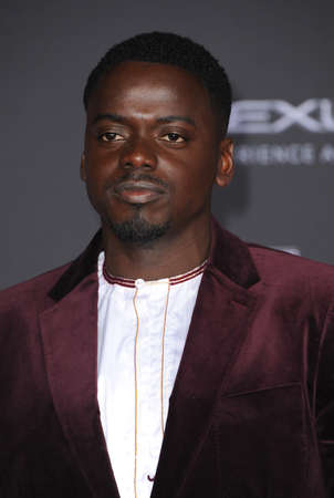Daniel Kaluuya at the World premiere of Marvel's 'Black Panther' held at the El Capitan Theatre in Hollywood, USA on January 29, 2018.