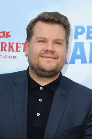 James Corden at the Los Angeles premiere of 'Peter Rabbit' held at the Grove in Los Angeles, USA on February 3, 2018.