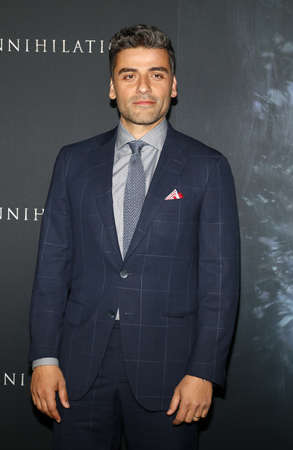 Oscar Isaac at the Los Angeles premiere of Annihilation held at the Regency Village Theater in Westwood, USA on February 13, 2018. Editöryel