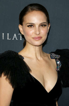 Natalie Portman at the Los Angeles premiere of 'Annihilation' held at the Regency Village Theater in Westwood, USA on February 13, 2018. 報道画像