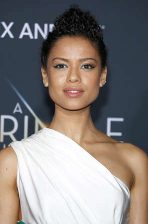 Gugu Mbatha-Raw at the Los Angeles premiere of A Wrinkle In Time held at the El Capitan Theater in Hollywood, USA on February 26, 2018.