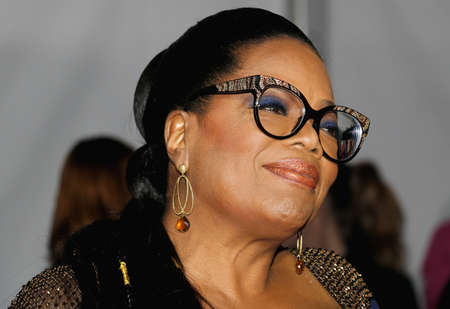 Oprah Winfrey alla premiere di Los Angeles di 'A Wrinkle In Time' 'tenutosi al El Capitan Theatre di Hollywood, negli Stati Uniti il 26 febbraio 2018.