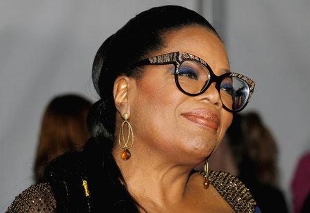 Oprah Winfrey bij de Los Angeles-première van 'A Wrinkle In Time', gehouden op 26 februari 2018 in het El Capitan-theater in Hollywood, Verenigde Staten.