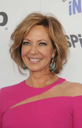 Allison Janney at the 2018 Film Independent Spirit Awards held at Santa Monica Beach, USA on March 3, 2018.