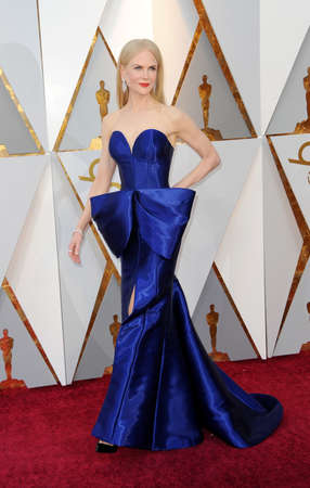 Nicole Kidman at the 90th Annual Academy Awards held at the Dolby Theatre in Hollywood, USA on March 4, 2018. Stock Photo - 97090399