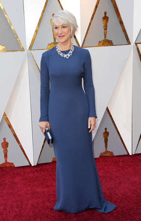 Helen Mirren at the 90th Annual Academy Awards held at the Dolby Theatre in Hollywood, USA on March 4, 2018.