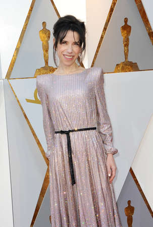 Sally Hawkins at the 90th Annual Academy Awards held at the Dolby Theatre in Hollywood, USA on March 4, 2018. 報道画像
