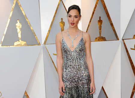 Gal Gadot at the 90th Annual Academy Awards held at the Dolby Theatre in Hollywood, USA on March 4, 2018.