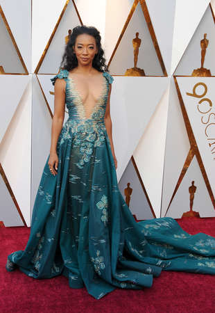 Betty Gabriel at the 90th Annual Academy Awards held at the Dolby Theatre in Hollywood, USA on March 4, 2018. Stock Photo - 97090444