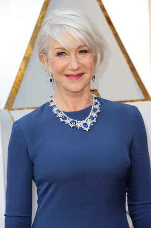 Helen Mirren at the 90th Annual Academy Awards held at the Dolby Theatre in Hollywood, USA on March 4, 2018. Stock Photo - 97090450