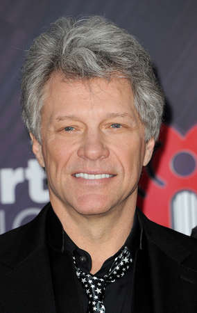 Jon Bon Jovi at the 2018 iHeartRadio Music Awards held at the Forum in Inglewood, USA on March 11, 2018. Editorial