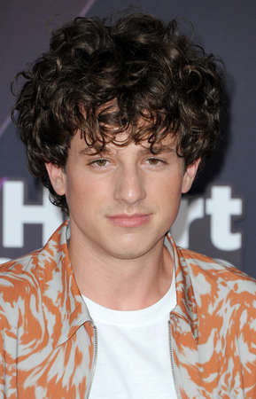 Charlie Puth at the 2018 iHeartRadio Music Awards held at the Forum in Inglewood, USA on March 11, 2018. Editorial
