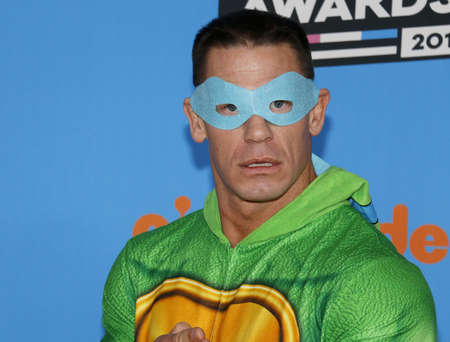 John Cena at the Nickelodeon's 2018 Kids' Choice Awards held at the Forum in Inglewood, USA on March 24, 2018.