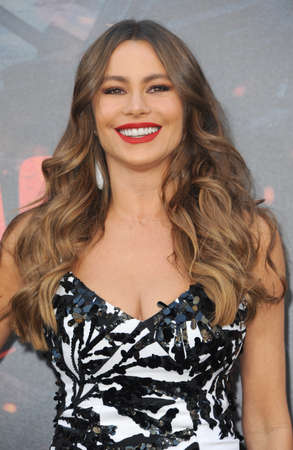 Sofia Vergara at the Los Angeles premiere of 'Rampage' held at the Microsoft Theater in Los Angeles, USA on April 4, 2018.