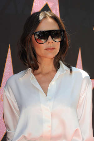 Victoria Beckham at Eva Longoria's Hollywood Star Ceremony Post-Luncheon held at the Private Residence in Beverly Hills, USA on April 16, 2018.