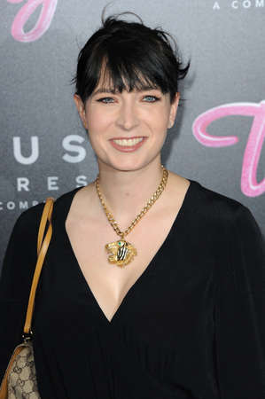 Diablo Cody at the Los Angeles premiere of Tully held at the Regal LA LIVE Stadium 14 in Los Angeles, USA on April 18, 2018.
