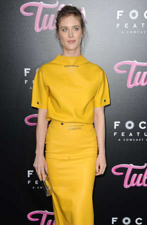 Mackenzie Davis at the Los Angeles premiere of Tully held at the Regal LA LIVE Stadium 14 in Los Angeles, USA on April 18, 2018.