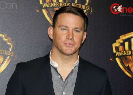 Channing Tatum en la CinemaCon 2018 - Warner Bros.Pictures 'The Big Picture' Presentación en el Caesars Palace en Las Vegas, Estados Unidos, el 24 de abril de 2018.