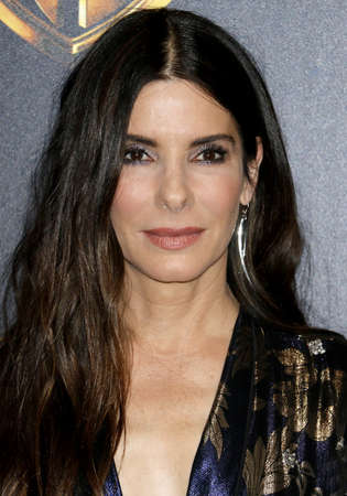 Sandra Bullock at the 2018 CinemaCon - Warner Bros. Pictures 'The Big Picture' Presentation at the Caesars Palace in Las Vegas, USA on April 24, 2018. Redakční
