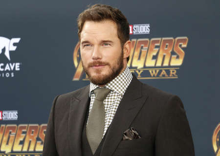 Chris Pratt at the premiere of Disney and Marvels Avengers: Infinity War held at the El Capitan Theatre in Hollywood, USA on April 23, 2018. Editorial
