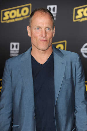 Woody Harrelson at the premiere of Disney Pictures and Lucasfilm's 'Solo: A Star Wars Story' held at the El Capitan Theatre in Hollywood, USA on May 10, 2018. 報道画像