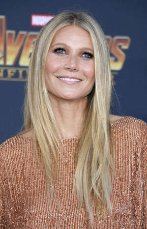 Gwyneth Paltrow at the premiere of Disney and Marvels Avengers: Infinity War held at the El Capitan Theatre in Hollywood, USA on April 23, 2018.