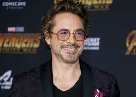 Robert Downey Jr. at the premiere of Disney and Marvels Avengers: Infinity War held at the El Capitan Theatre in Hollywood, USA on April 23, 2018. Редакционное