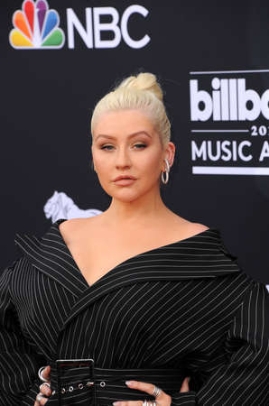 Christina Aguilera at the 2018 Billboard Music Awards held at the MGM Grand Garden Arena in Las Vegas, USA on May 20, 2018. Publikacyjne