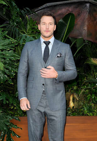 Chris Pratt at the Los Angeles premiere of 'Jurassic World: Fallen Kingdom' held at the Walt Disney Concert Hall in Los Angeles, USA on June 12, 2018. Editorial