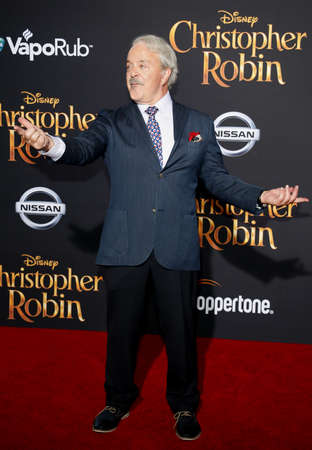 Jim Cummings at the Los Angeles premiere of Christopher Robin held at the Walt Disney Studios in Burbank, USA on July 30, 2018.