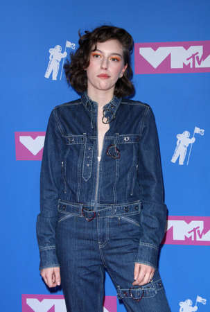 King Princess at the 2018 MTV Video Music Awards held at the Radio City Music Hall in New York, USA on August 20, 2018. 報道画像