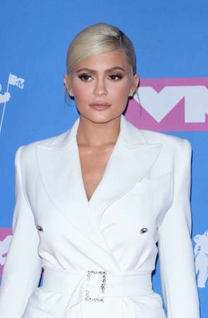 Kylie Jenner en los MTV Video Music Awards 2018 celebrados en el Radio City Music Hall de Nueva York, Estados Unidos, el 20 de agosto de 2018.