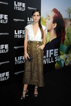 Laia Costa at the Los Angeles premiere of 'Life Itself' held at the ArcLight Cinemas in Hollywood, USA on September 13, 2018. Sajtókép