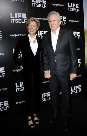 Warren Beatty and Annette Bening at the Los Angeles premiere of 'Life Itself' held at the ArcLight Cinemas in Hollywood, USA on September 13, 2018. Sajtókép