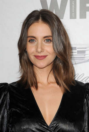 Alison Brie at the Variety And Women In Film's 2018 Pre-Emmy Celebration held at the Cecconi's in West Hollywood, USA on September 15, 2018. Redakční