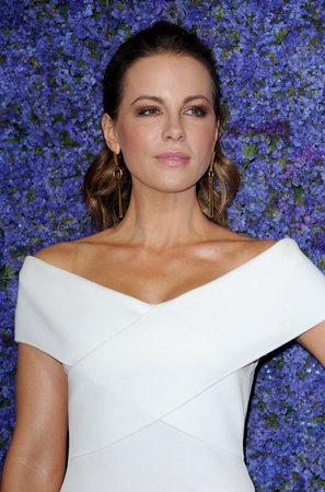 Kate Beckinsale op het Caruso's Palisades Village Opening Gala gehouden op 20 September 2018 in het Palisades Village in Pacific Palisades, Verenigde Staten. Stockfoto - 108550649