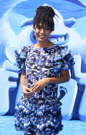 Yara Shahidi at the Los Angeles premiere of Smallfoot held at the Regency Village Theatre in Westwood, USA on September 22, 2018. Editöryel