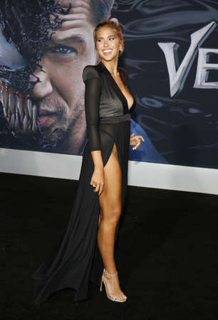 Kara Del Toro at the Los Angeles premiere of 'Venom' held at the Regency Village Theatre in Westwood, USA on October 1, 2018.