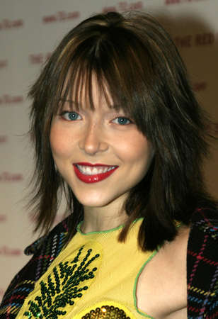 Ashley Peldon at the Book Launch Party for The Red String Book: the Power Of Protection held at the Kitson in Beverly Hills, USA on October 26, 2004.
