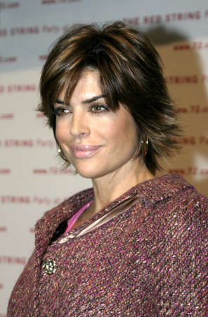 Lisa Rinna at the Book Launch Party for The Red String Book: the Power Of Protection held at the Kitson in Beverly Hills, USA on October 26, 2004. Editorial