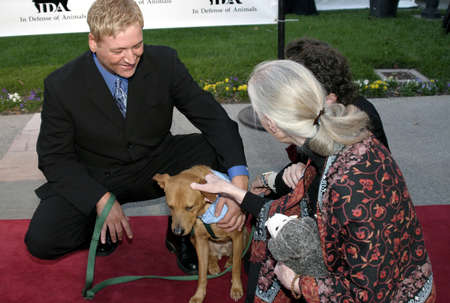 Quentin the Dog at the IDA Awards - In Defense of Animals Hosts 2nd Annual Guardian Award held at the Paramount Studios in Los Angeles, USA on October 30, 2004.