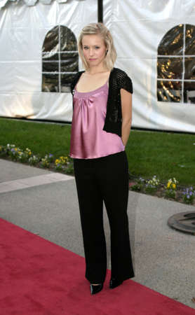 Kristen Bell at the IDA Awards - In Defense of Animals Hosts 2nd Annual Guardian Award held at the Paramount Studios in Los Angeles, USA on October 30, 2004.